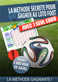 LOTOFOOT GAGNANT